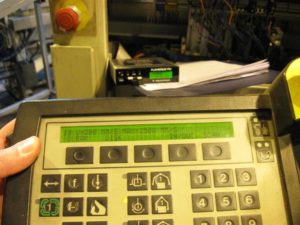 FlexiDrive Floppy Emulator on industrial equipment